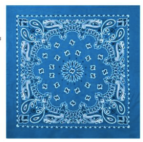 Mass Bandanna (Sky Blue)