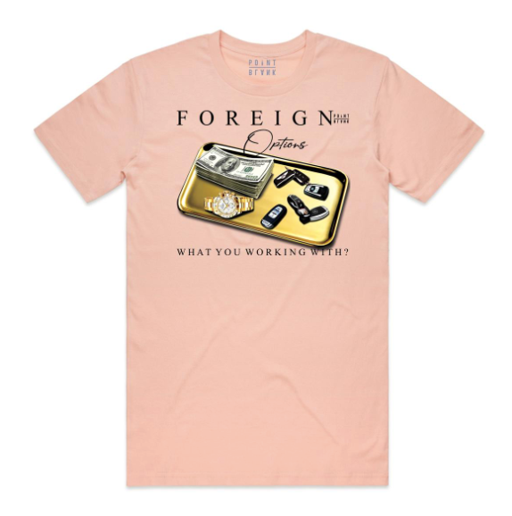 Point Blank Foreign Options Tee