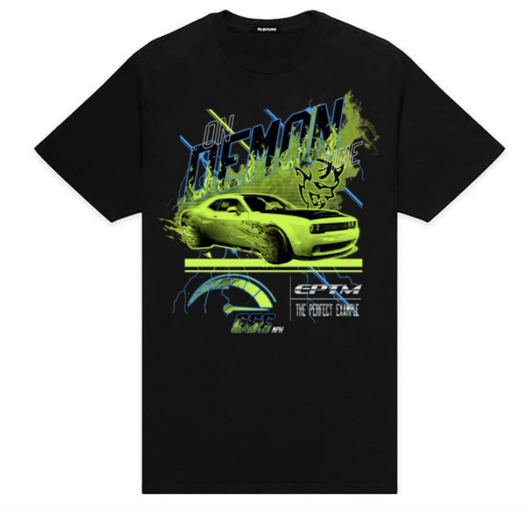 Eptm On Demon Time Tee (Black/Neon)
