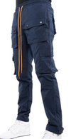 EPTM Snap Cargo Track Pants (Navy)