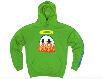 BWood Ghost Embroidered Flame