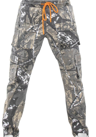 EPTM Camo Snap Cargo Pants (Forest)