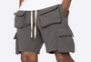 EPTM FLEECE CARGO SHORTS (CHARCOAL)
