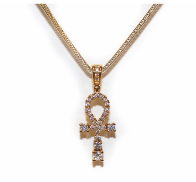 Golden Gilt Gold Ankh