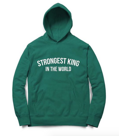 Strongest King in the World Hoodie