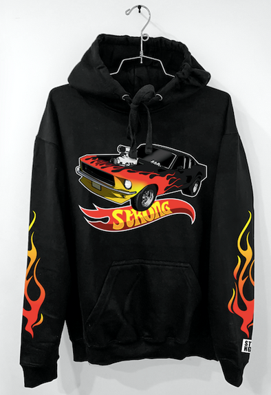 "STRONG ""HOT WHEELS"" HOODIE"