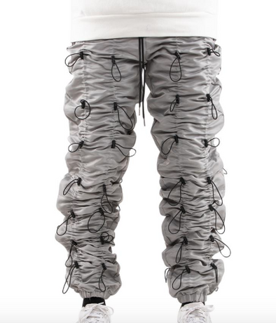 Eptm Accordian Pants (Silver/Black)