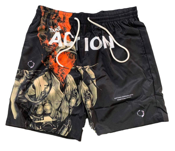 Undx Take Action Soldier Shorts