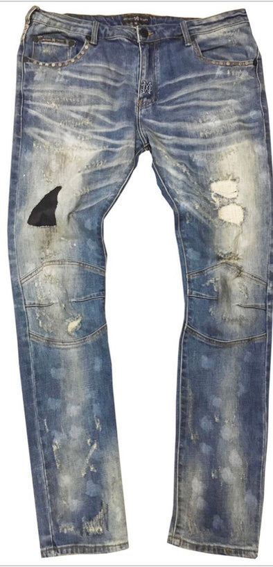 Mike Cherry Stud Denim