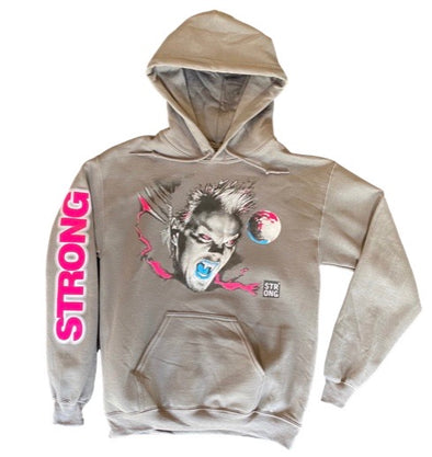 "STRONG ""THE LOST BOYS"" HOODY  (SOUTH BEACH)(Gray/Pink/Blue)"