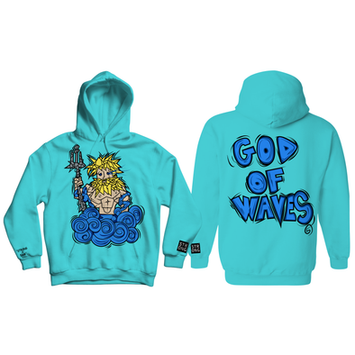 "STRONG X 5AM ROSA ""GOD OF WAVES"" HOODY"
