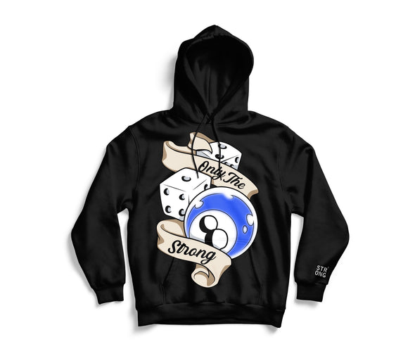"STRONG ""The Hustle"" Hoodie (Blue)"
