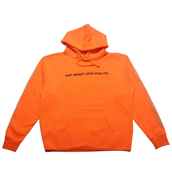 Good And Evil Changing Faces Hoody (Orange)