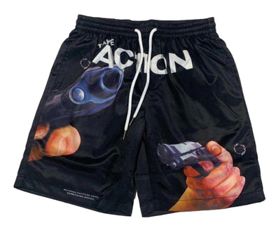 "Undx ""Take Action Shooter"" Shorts (Blk)"