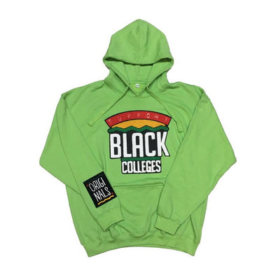 "Originals ""Support Black Colleges"" Hoodie (Lime Green)"