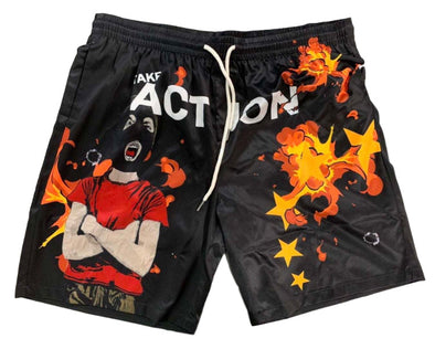 Undx Take Action Mask On Shorts