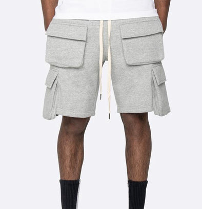 EPTM FLEECE CARGO SHORTS (GRY)
