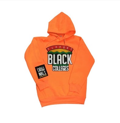 "Originals ""Support Black Colleges"" Hoodie (Orange)"