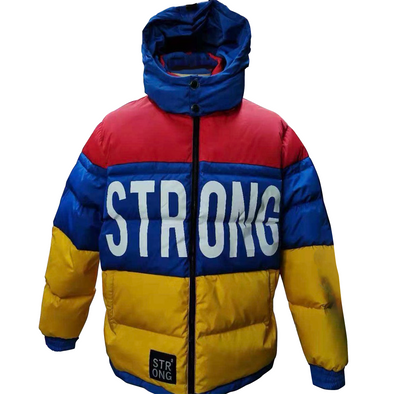 "STRONG ""Deer Hunter"" Jacket (Blue/Yellow)"