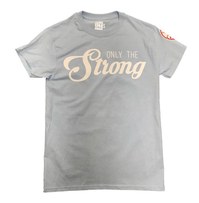 "STRONG ""The Bombers"" Tee (Light Blue)"