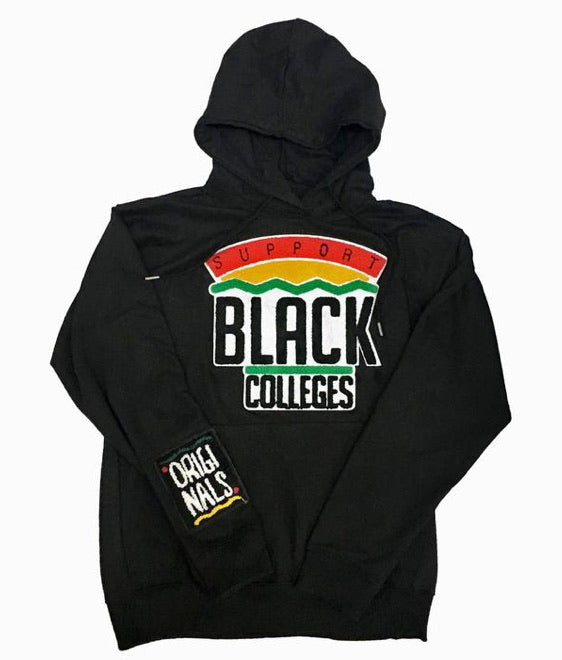 "Originals ""Support Black Colleges"" Hoodie (Blk)"