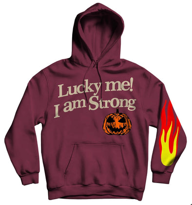 STRONG Lucky Me Hoodie (Burgundy)