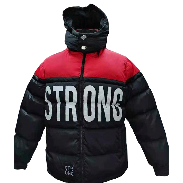 "STRONG ""Deer Hunter"" Jacket (Black/Red)"