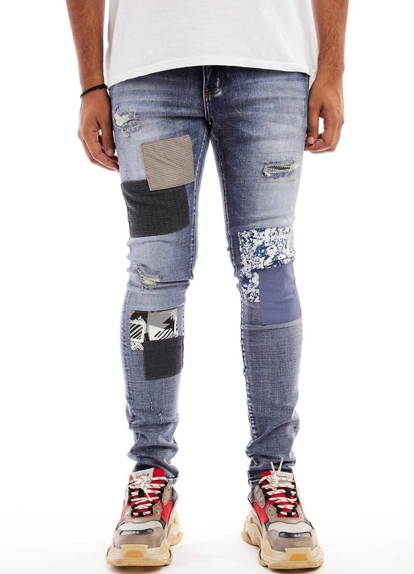 Damati Da Vinci Blue Patch Denim