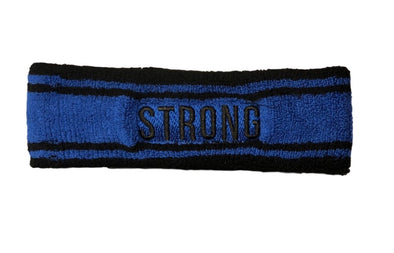 "STRONG ""The Headband"" ROYAL BLUE)"