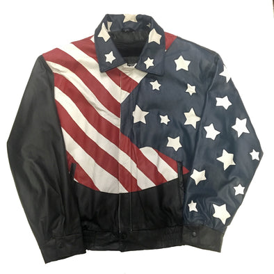 USA Leather Bomber (1 of 1)