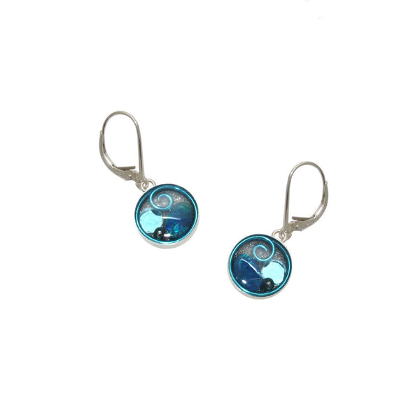 Hyacinth Opal Earrings