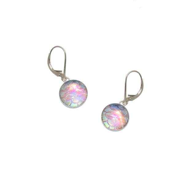 10mm Light Pink Mermaid Earrings
