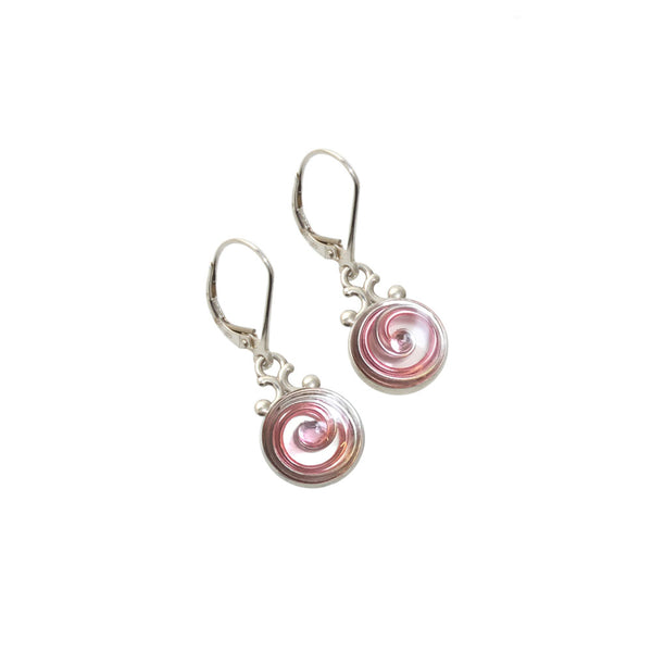 Camellia Mother of Pearl Earrings