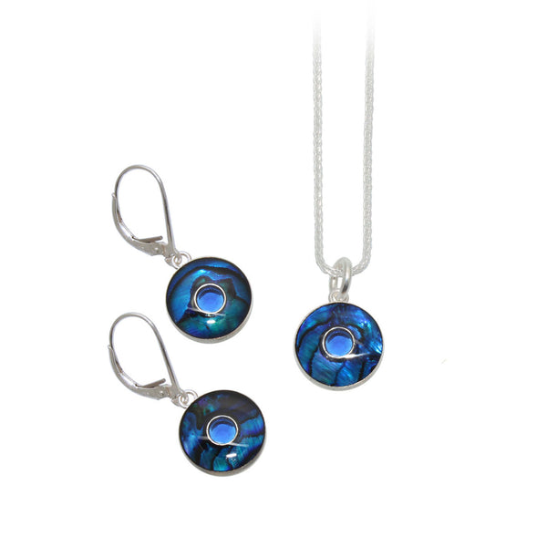 Blue Abalone Set