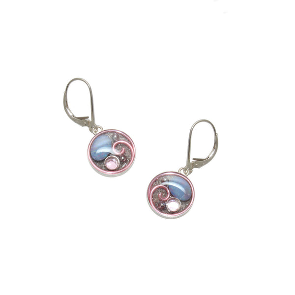 Periwinkle Opal Earrings