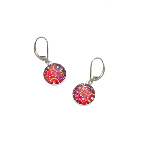 Red Carnival Earrings