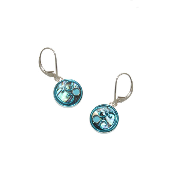 Bellflower Abalone Earrings