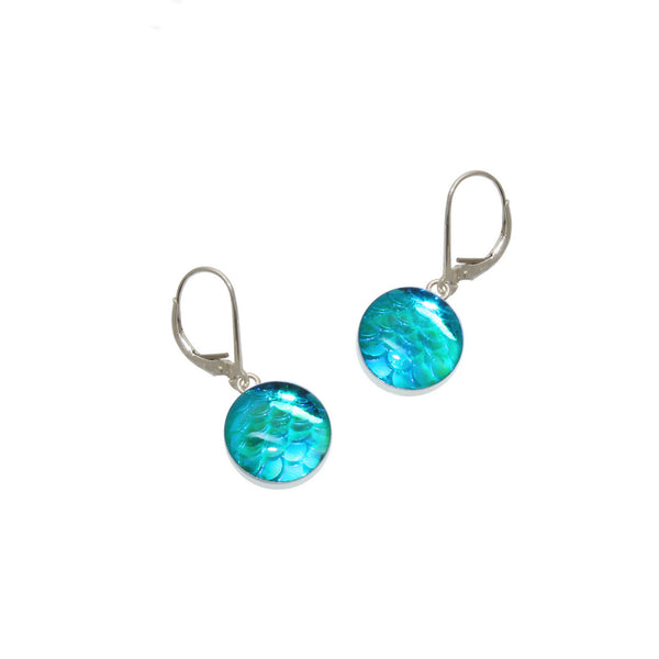 12mm Sky Mermaid Earrings