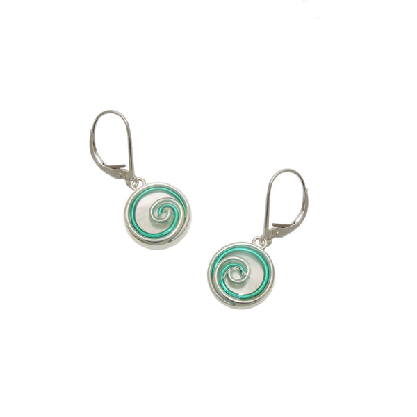 Clover Mother of Pearl Earrings