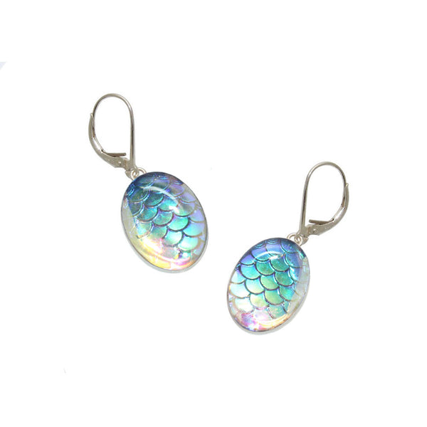 18x13mm Aurora Mermaid Earrings