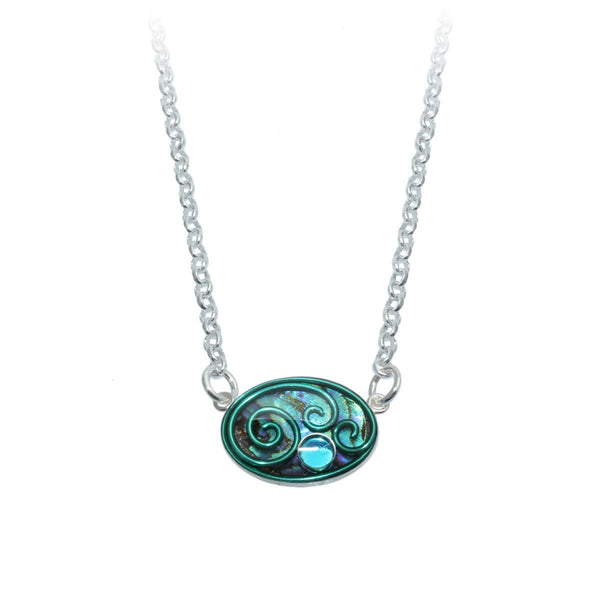 Daylily Abalone Necklace