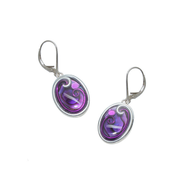 Angelonia Oval Earrings