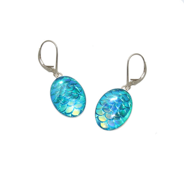 18x13mm Sky Mermaid Earrings
