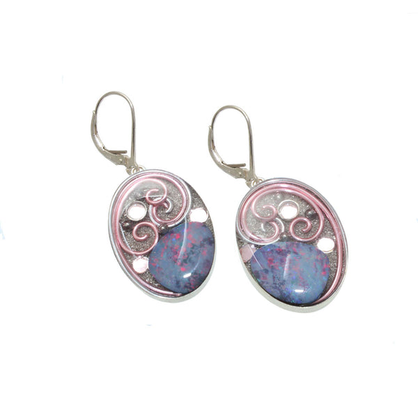 Cleome Opal Earrings