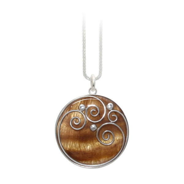 Tan Shell Pendant