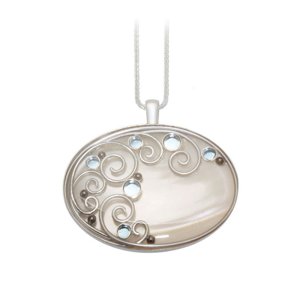 40X30mm Mother of Pearl Pendant