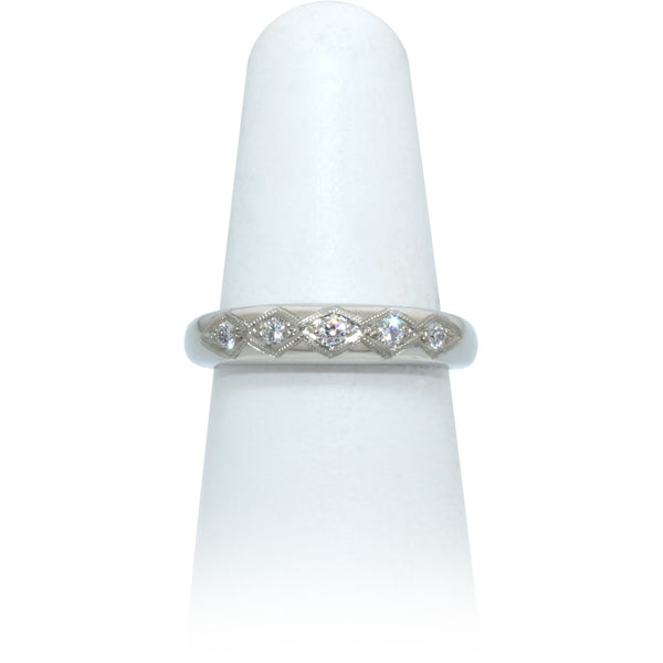Size 6.5 - Five Diamond Band