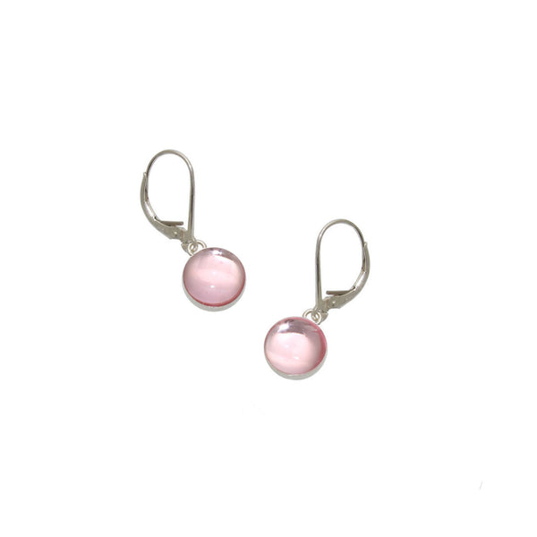 Light Pink Gumdrop Earrings