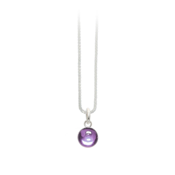 Purple Gumdrop Pendant