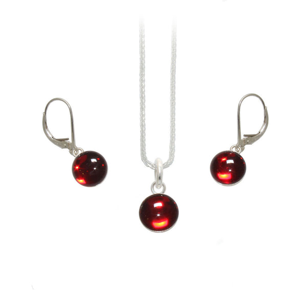 8mm Red Gumdrop Set